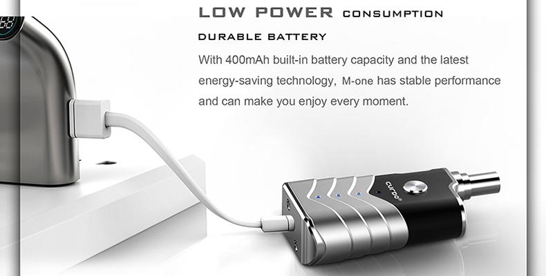 M-One Vaporizer Mod Starter Kit Power