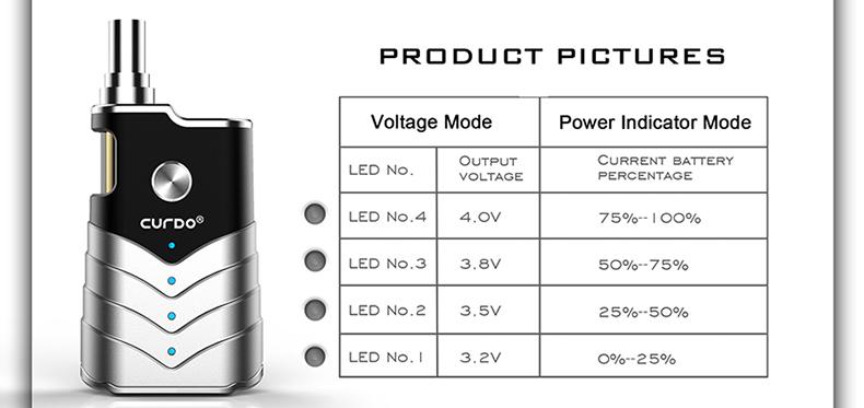 M-One Vaporizer Kit Voltage