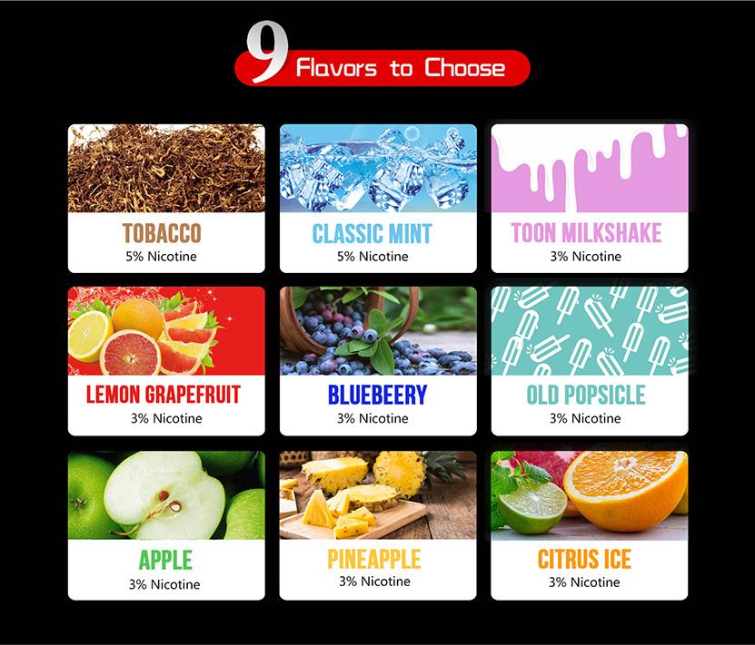 DOVPO CG Pod System Kit 9 Flavors