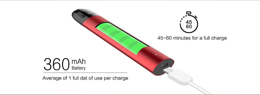 CG Pod System Kit Battery