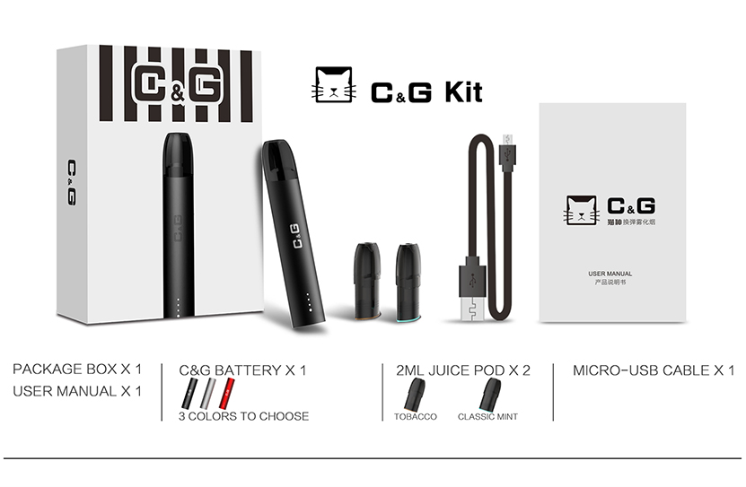 CG Pod System Kit Package