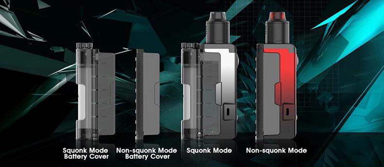 DOVPO Topside Lite Mod Kit Modes