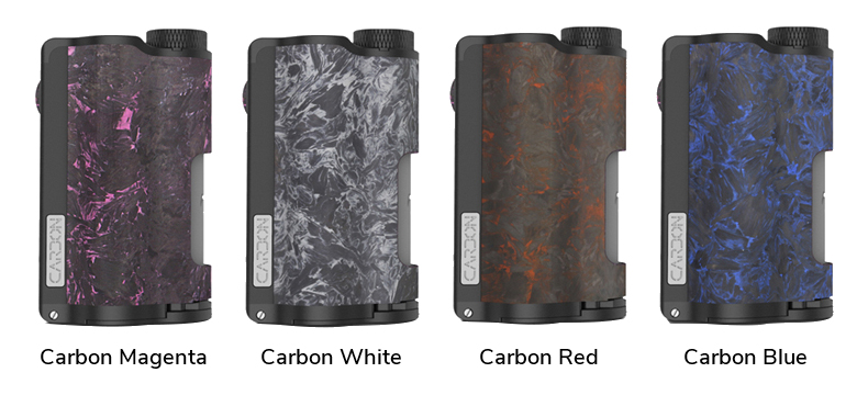 Topside Dual Carbon Squonk Box Mod Full Colors