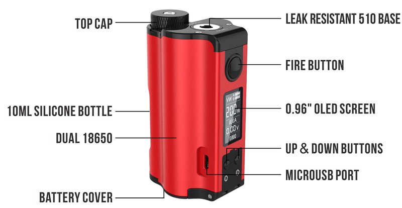 DOVPO Topside Dual Squonk Mod feature02