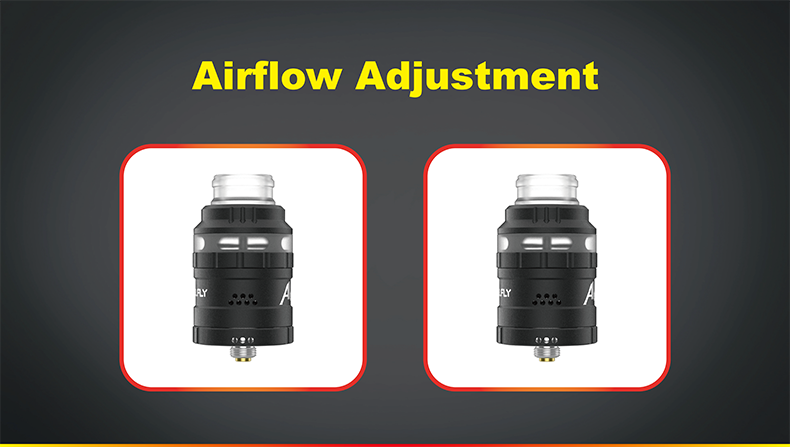 Apache RDA Airflow Adjustable