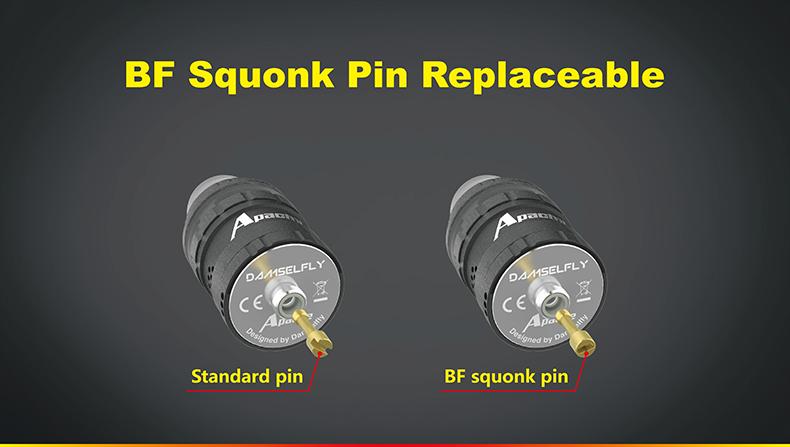 Apache RDA Atomizer BF Squonk Pin