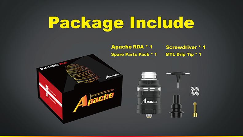Damselfly Apache RDA Atomizer Includes