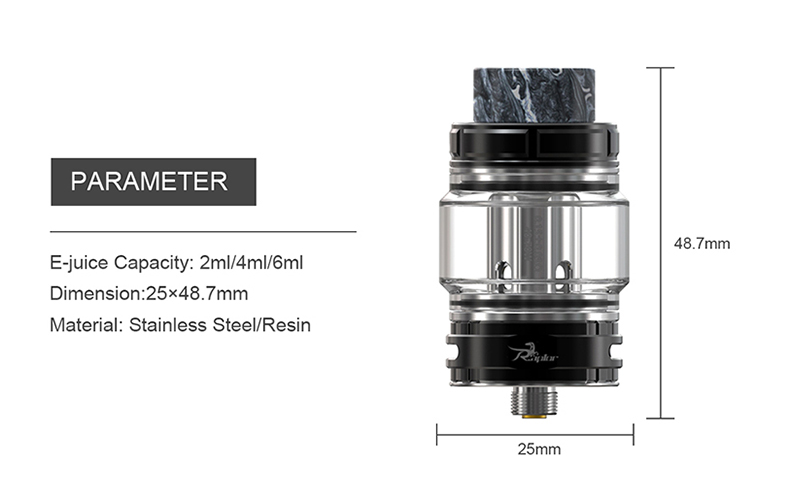 Raptor Tank Atomizer Parameter