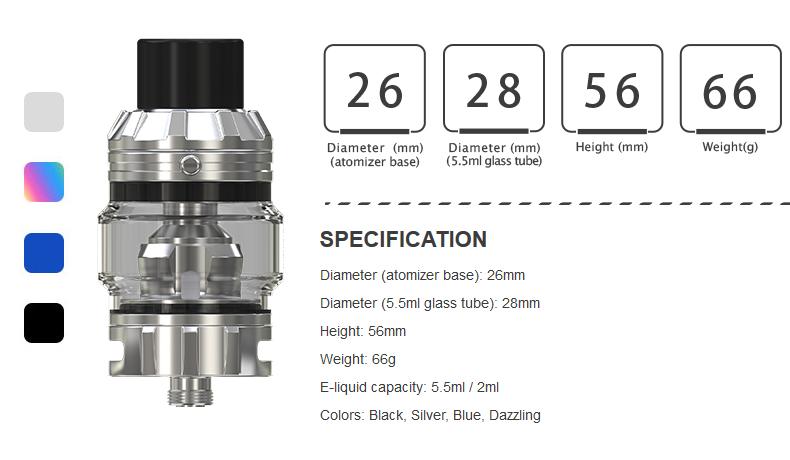 Eleaf Rotor Tank Specification
