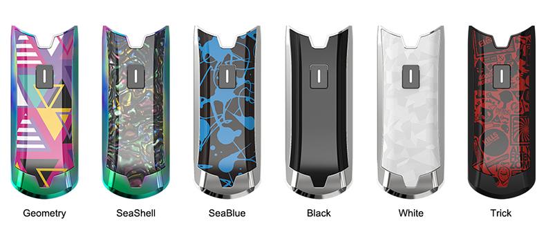 Eleaf Tance Max Battery Colors