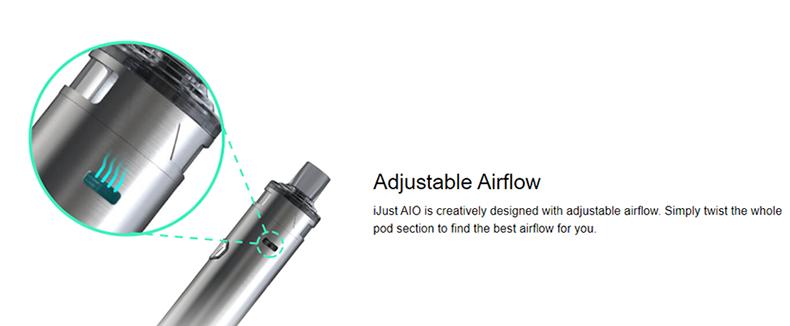 iJust AIO Kit Adjustable Airflow