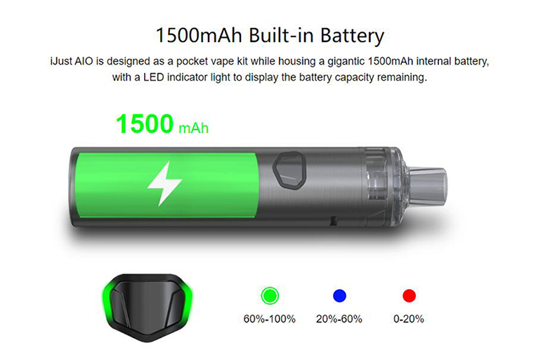 iJust AIO Kit Battery
