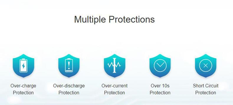 Eleaf iJust AIO Pod System Kit Protections