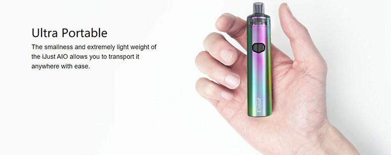 Eleaf iJust AIO Kit Size