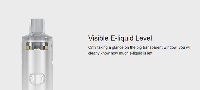 Eleaf iJust AIO Pod Kit Visible Window