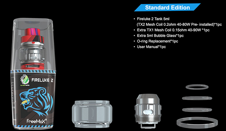 Freemax Fireluke 2 Atomizer Graffiti Edition Includes