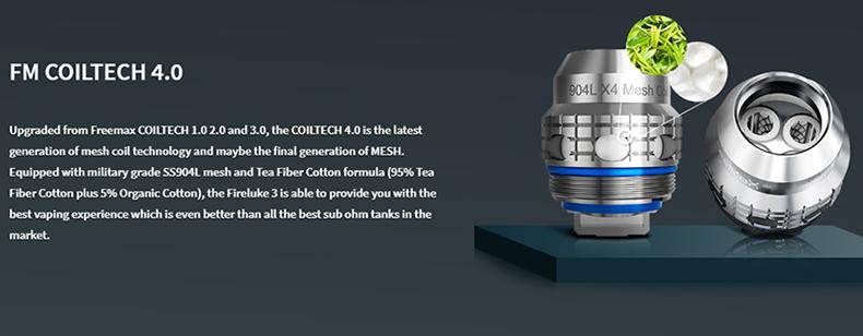 Fireluke 3 Sub Ohm Tank COILTECH 4.0