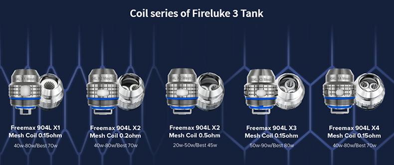 Fireluke Tank Mesh Coil