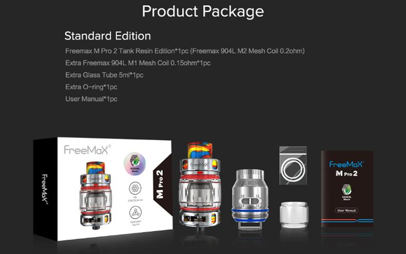 M Pro2 Tank Package