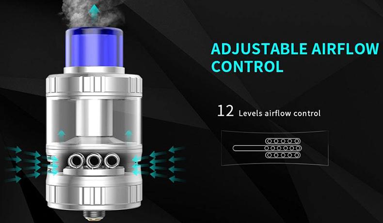 Aries 30 RTA Adjustable Airflow Control
