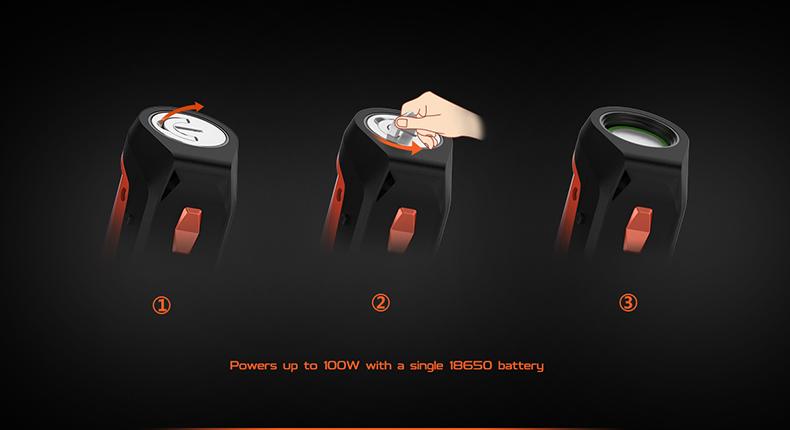 GeekVape Aegis Solo Mod Battery