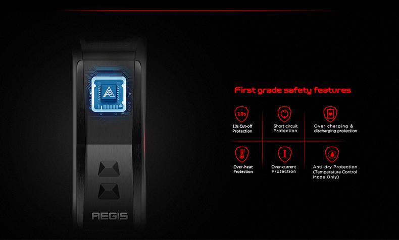 GeekVape Aegis X Kit Protections
