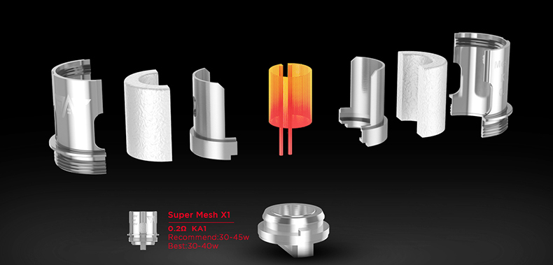 GeekVape Aegis X Kit Super Mesh Coils
