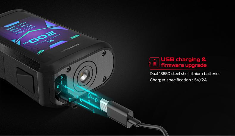 GeekVape Aegis X Kit USB Charging