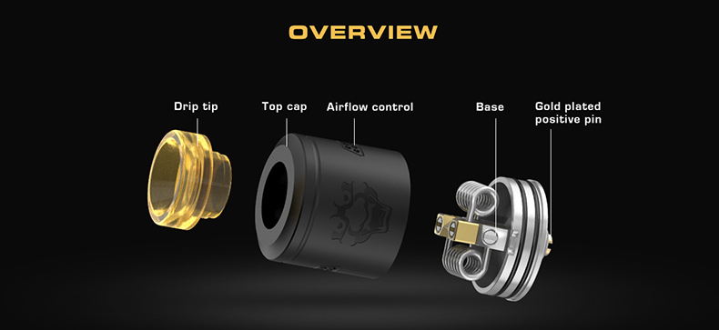 GeekVape Tengu 24mm BF RDA Overview
