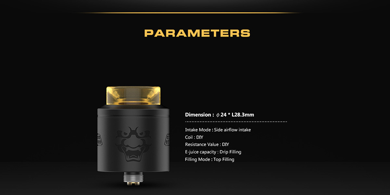 GeekVape Tengu 24mm BF RDA Parameters