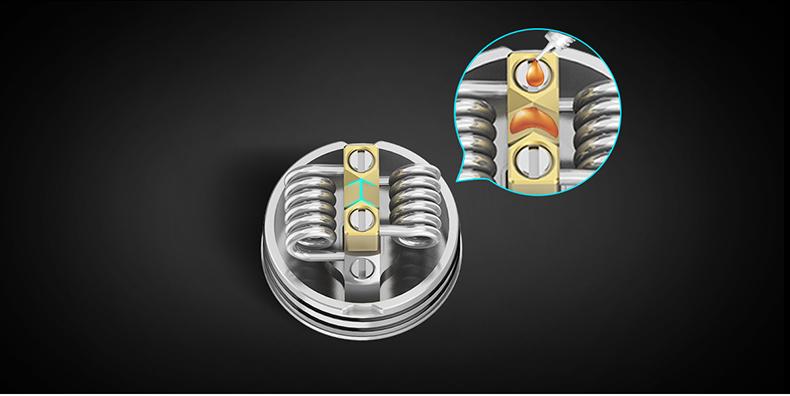 GeekVape Tengu RDA Atomizer Dual Coils