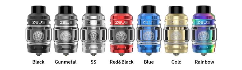 GeekVape Zeus Sub Ohm Tank Colors