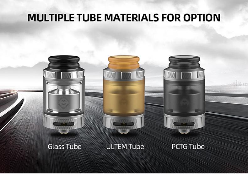 Destiny RTA Tank Glass Tube