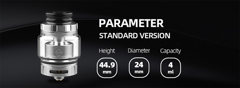 Destiny RTA Atomizer Parameter