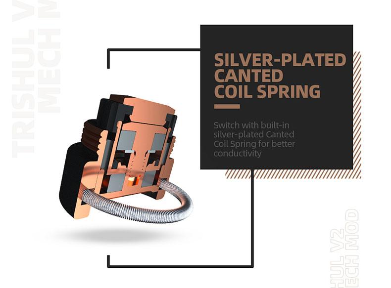 Hellvape Trishul V2 Mod Coil Spring