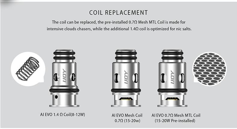 AI EVO Pod Starter Kit Coil