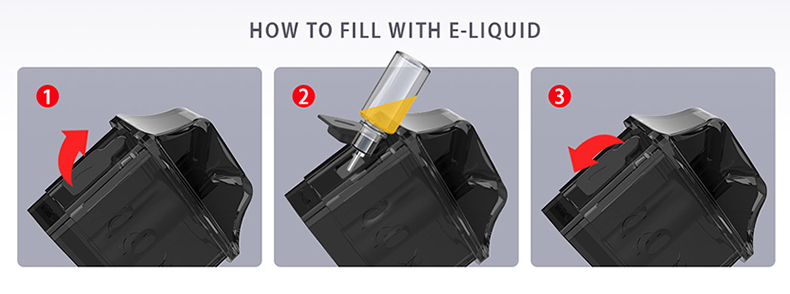 IJOY Aria Pod System Kit Side Filling