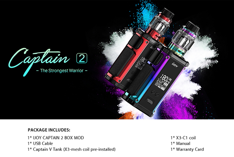 IJOY Captain 2 Starter Kit Package