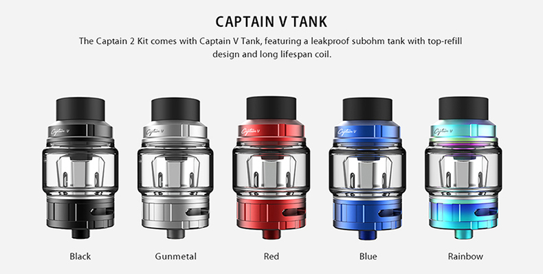 Captain 2 Kit Tank