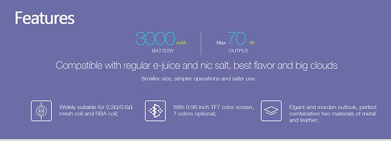 JUPITER 3000 Mod Pod Kit Features