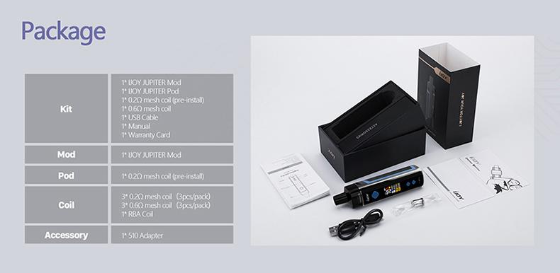 JUPITER 3000 Kit Package