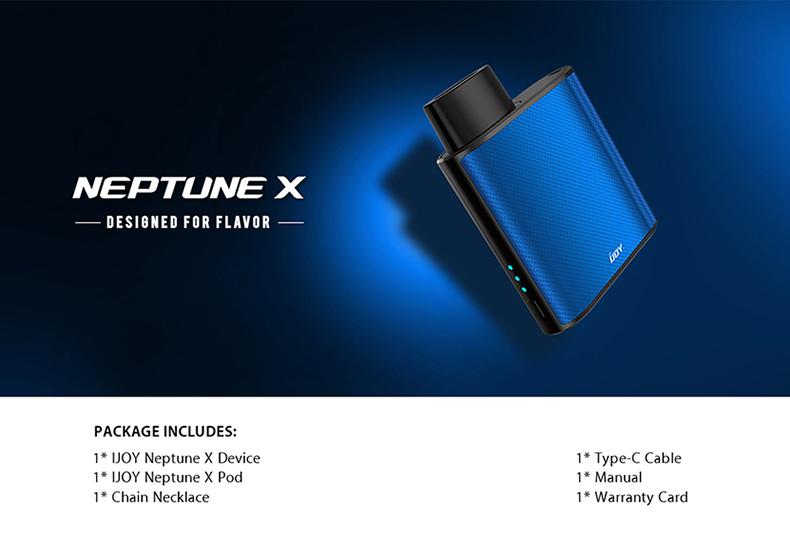 IJOY Neptune X Pod Kit Package