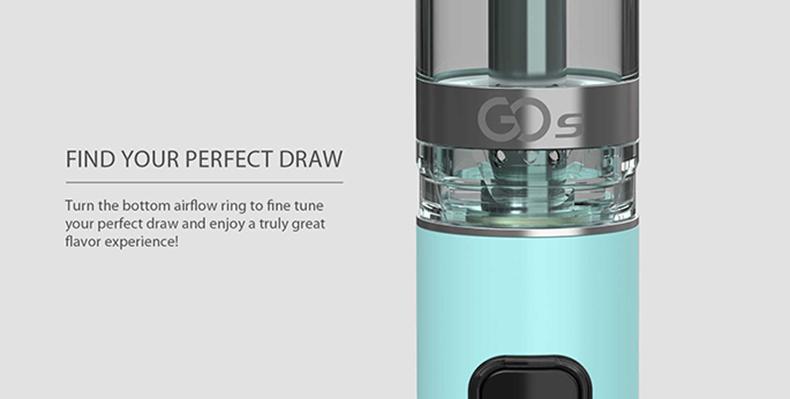 GO S MTL Kit Airflow Ring