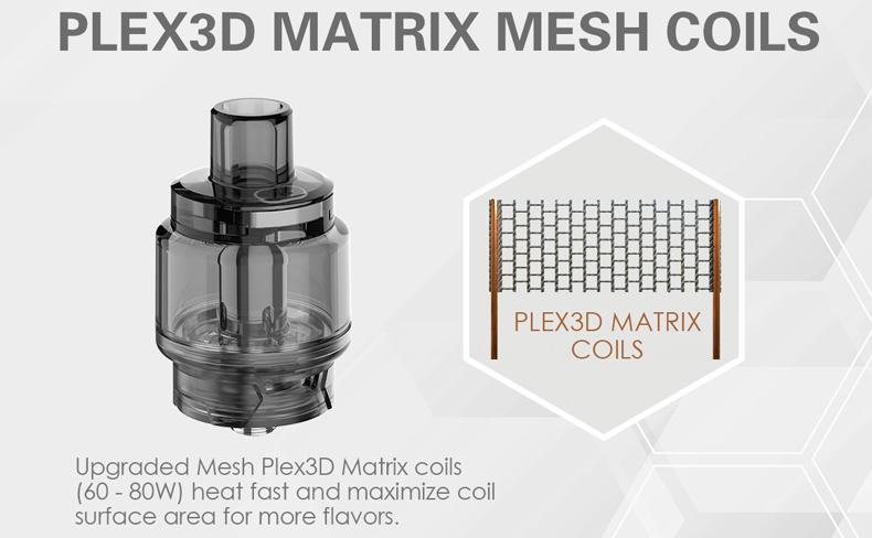 Innokin GoMax Tank Plex-3D Matrix Mesh Coil