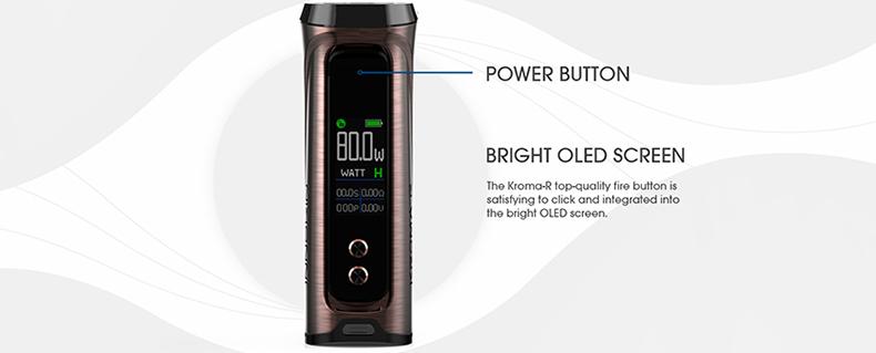 Innokin Kroma R Box Mod Power Button