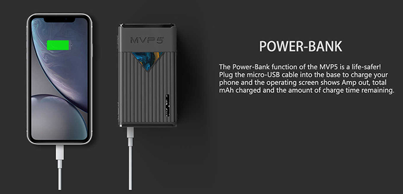 MVP5 Mod Power Bank