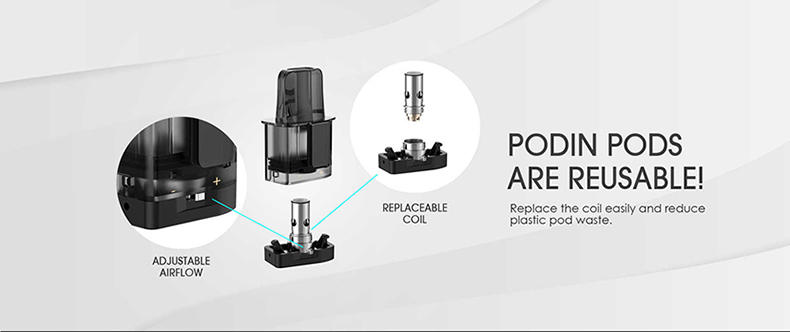 Podin Mini Pod Mod Kit Coil Replacement