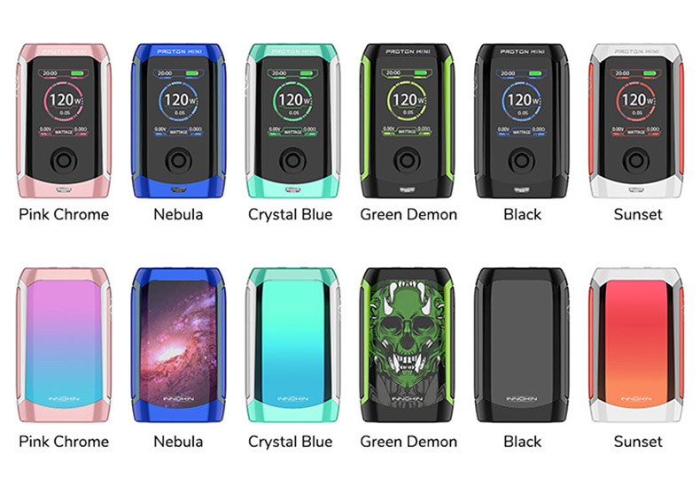 Proton Mini Box Mod Full Colors