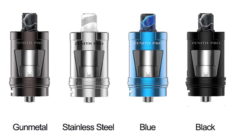 Zenith Pro Tank Colors