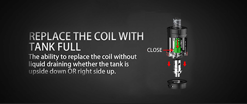 Innokin Zenith Pro RDL Tank Coil Replacement